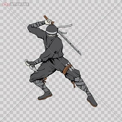 Amazon.com: Stickers Decals Ninja Warrior Car Window,Helmet ...