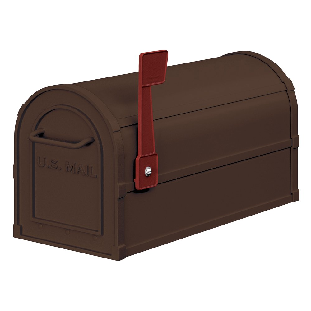 Salsbury Industries 4850A-BRZ Antique Rural Mailbox, Bronze by Salsbury Industries