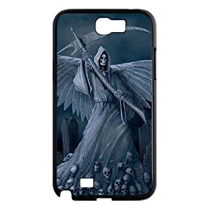 ALICASE Diy Design Back Case Grim Reaper for Samsung Galaxy Note 2 N7100 [Pattern-1]