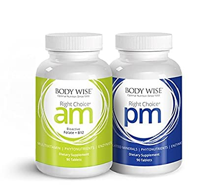 Right Choice AM (90 Tablets) and Right Choice PM (90 Tablets).