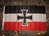 3X5 German Germany Jack Iron Cross 1871-1918 World War 1 Flag 3'X5′ Banner