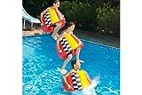 Swimline 90460 1-Pack Swimline CannonBall Inflatable Jump Ring