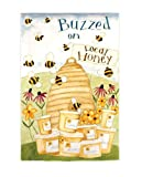 "Evergreen Buzzed on Local Honey Regular Sized Flag 29"" X 18"""