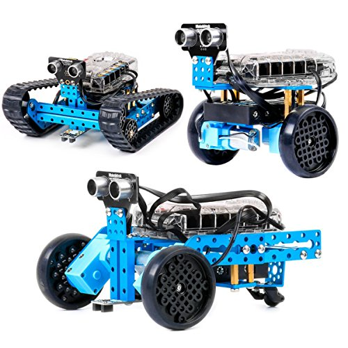 Makeblock DIY mBot Ranger 3-in-1 Robotics Electronic Transformable STEM Educational Robot Kit, Best Gift for Kids / Adults