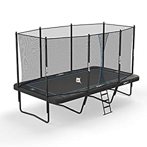 Acon Trampoline Air 16 Sport HD with Enclosure | Includes 10'x17' Rectangular Trampoline, Safety Net, Safety Pad and Ladder