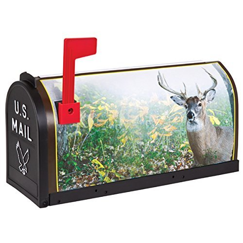 Flambeau T-RD-DER2 Scenic Decor Series Mailbox, Deers by Flambeau