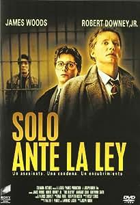 Solo Ante La Ley [DVD]