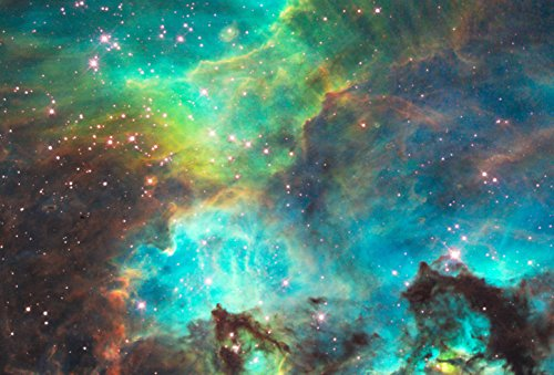 Star Cluster NGC 2074 in the Large Magellanic Cloud Hi Gloss
