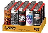 BIC Lighter 50 Ct Tray - Music Legends