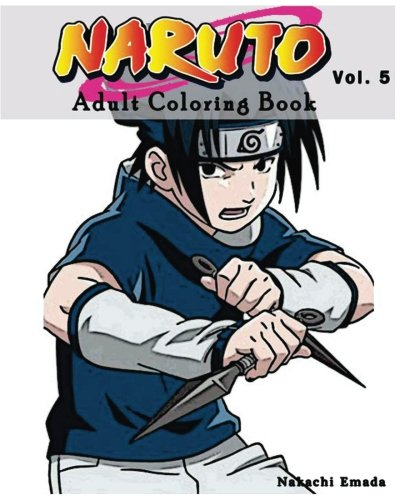 Naruto Adult Coloring Book Sketches Series Vol5