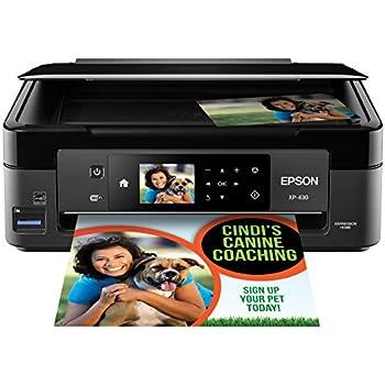 amazon com epson expression home xp 430 wireless color photo rh amazon com Epson Workforce 635 Ink epson workforce 630 user manual