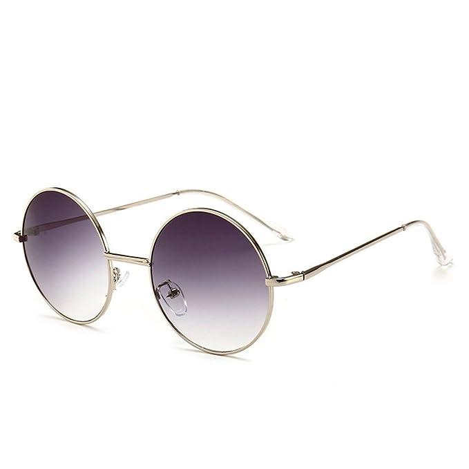 0c38e8a086 Shop 6 Gafas de sol Gafas de sol circulares lentes de contacto masculinos  cambio gradual gafas de sol resistentes a los rayos UV.