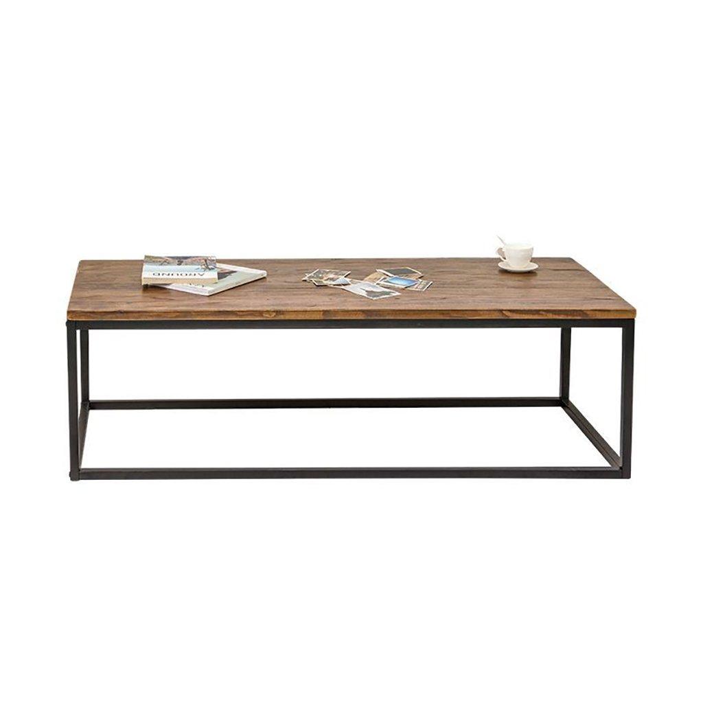 シンプルなモダンな木製のコーヒーテーブルヴィンテージレトロ鉄のダイニングテーブルアメリカのパーソナリティ創造的なインダストリアルスタイルのコーヒーテーブル (サイズ さいず : 40*45*60cm) B07F83PMK440*45*60cm
