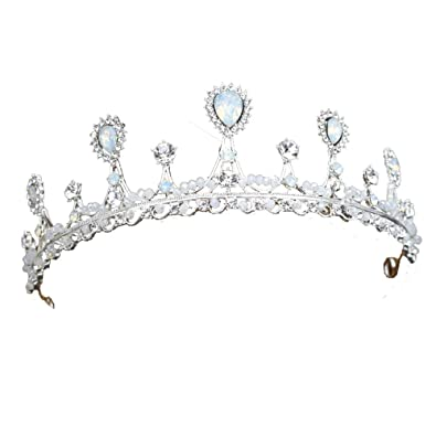 Amazon Com Sunshinesmile Pageant Princess Bridal Crystal Wedding