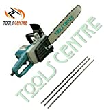 Toolscentre Powerful 16' Electric Chainsaw For Fast & Easy Trimming,Pruning & Light Cutting With Free 3Pcs Chain Sharpening Round File .