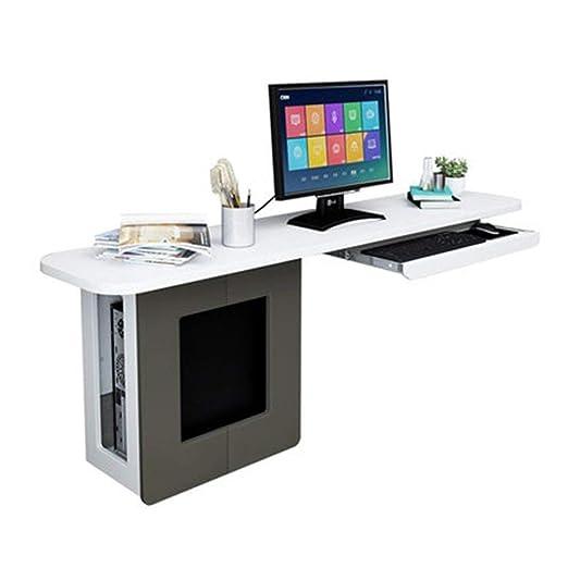 Deawecall Mesa de Madera pequeña Ordenador Escritorio PC portátil ...