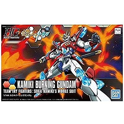 HGBF 1/144 Kamiki Burning Gundam Plastic Model: Toys & Games
