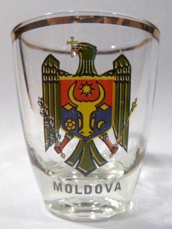 Moldova Shot Glass