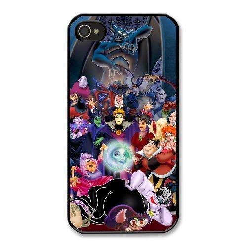 The best gift for Halloween and Christmas iPhone 4 4s Cell Phone Case Black Freak badass disney villains by disney villains VIK9180835
