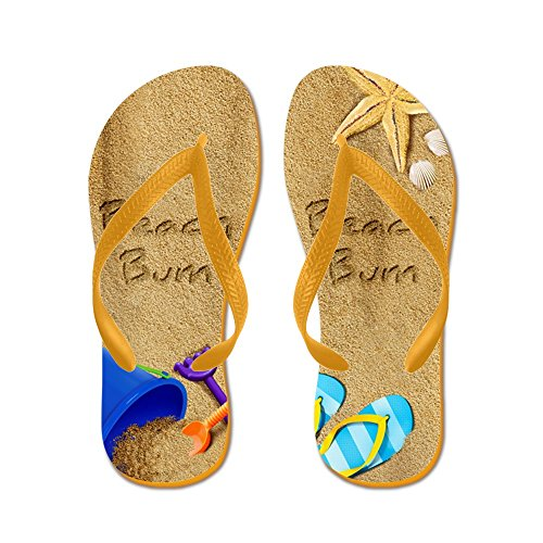 50ffaa9a6a60 outlet CafePress - Beach Bum - Flip Flops