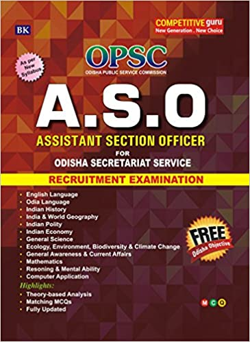 Buy Assistant Section Officer (A S O) for Odisha Secretariat Service