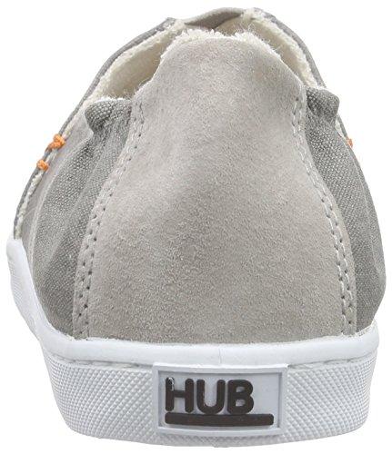 Hub Damen Fuji C06 Espadrilles Grau (greyish / Wht 015)