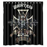 "60 ""x72"" Motorhead Shower Curtain Waterproof Fabric Shower Curtain"