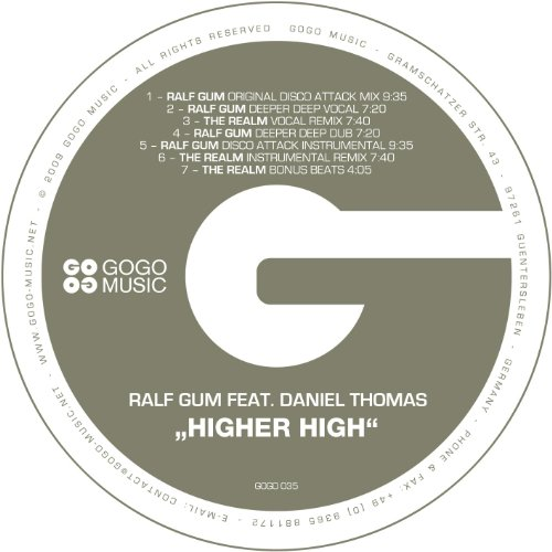 Ralf GUM Feat. Daniel Thomas - Higher High