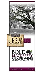 NV Island Grove Bold Blackberry Wine 750 mL