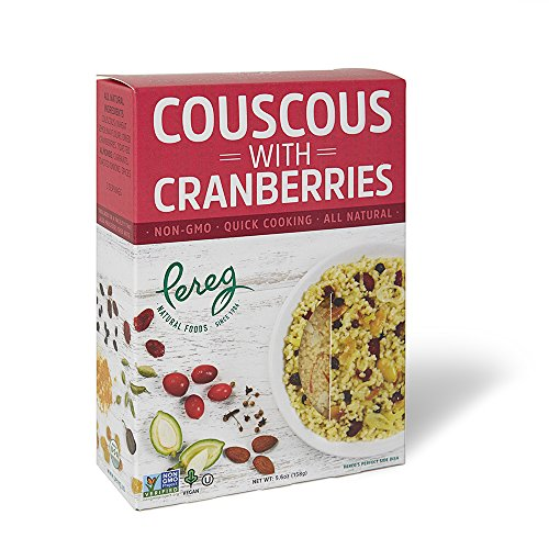 Couscous Vegetable (Couscous with Cranberries 5.60 Ounces (Case of 6))