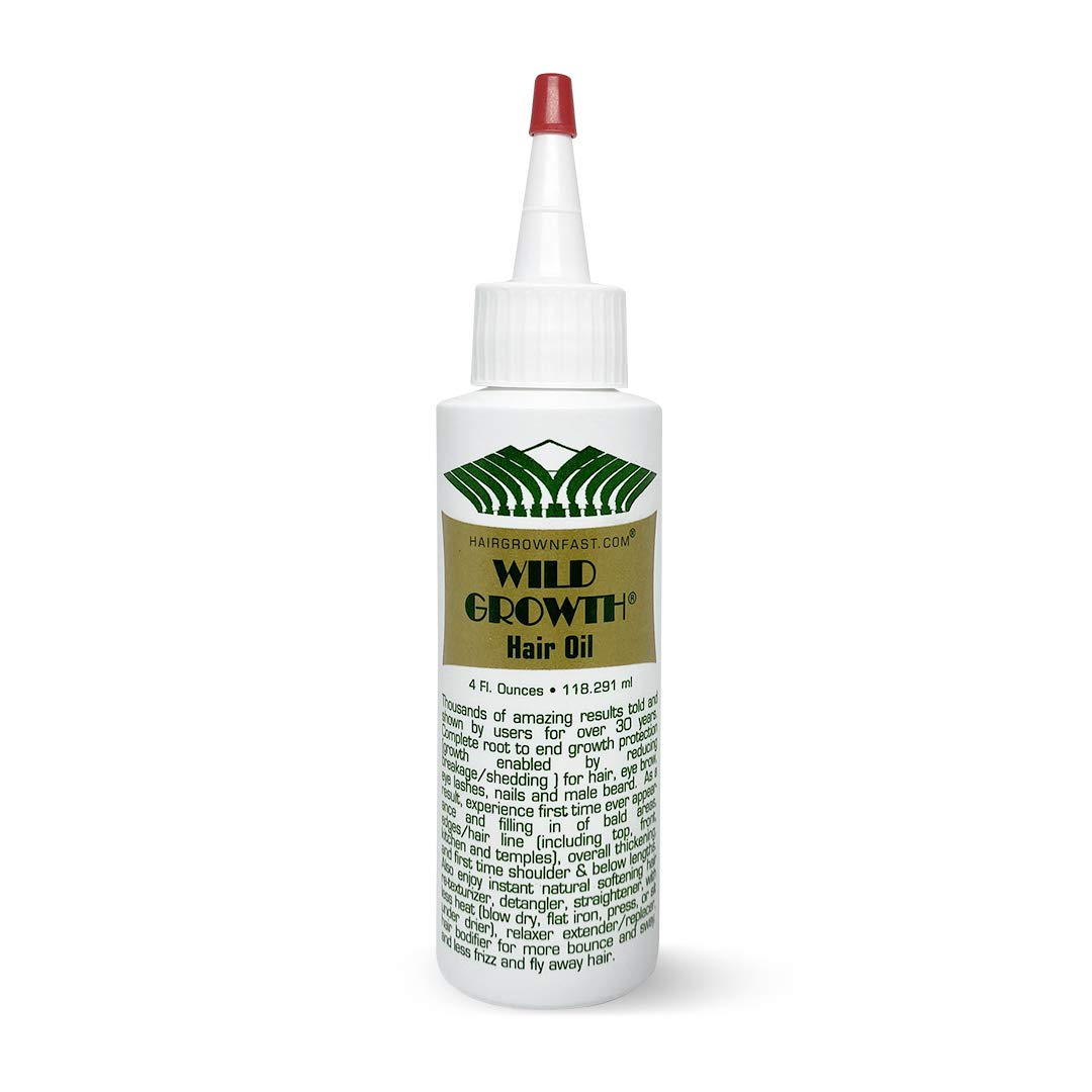 Wild Growth Hair Oil - 4oz/118.291ml by Wild Growth