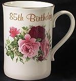 85th Birthday Gift Mug in bone China