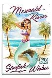 Best Lantern Press Wishes Signs - Lantern Press Key West, Florida - Mermaid Kisses Review