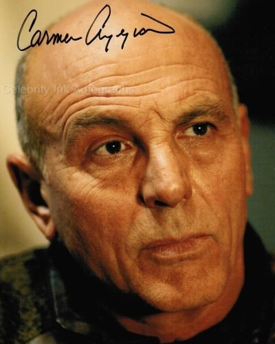 CARMEN ARGENZIANO as General Jacob Carter - Stargate SG-1 Genuine Autograph from Celebrity Ink