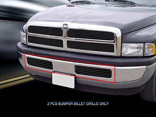 1500 Bumper Grille Replacement (Fedar Lower Bumper Replacement Billet Grille Insert for 1994-2001 Dodge Ram)