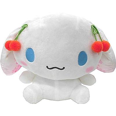 Cinnamoroll Sanrio Cherry Blossom with Smiling Mouth 30cm Plush Doll by Furyu: Toys & Games