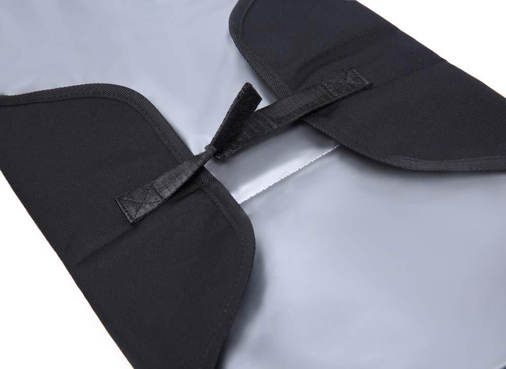 ELENTURE Diaper Changing Pad Gray//White Dot Baby Infant Portable Travel Changing Station Mat Bag