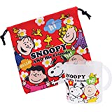 Snoopy cup and cup bag 1 sdt for 8