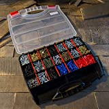 Portable Storage Case with Secure Locks and 23