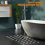 48 Pieces Non-Slip Bathtub Stickers Safety Anti