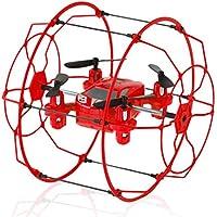 RC Mini Drone,2.4GHz 4CH 6-Axis Mini Hybrid Car-Copter RC Quadcopter ,Brithday Christmas Gift