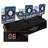 Ayans Auto-Reset Target,Electronic Scoring Target Toys Soft Bullet Target Dart Toy Gun Shoot for NERF N-Strike Blaster Kids Toy (Ages 7 yrs & Up)