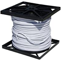 Cop Security 95S-500W RG59 Siamese Cable with 18/2 Power and 24/2 DATA, 500-Feet (White)