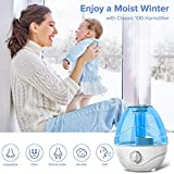 LEVOIT Cool Mist Humidifiers for Bedroom, 2.4L