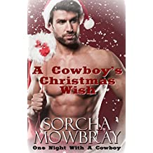 A Cowboy's Christmas Wish: One Night With A Cowboy