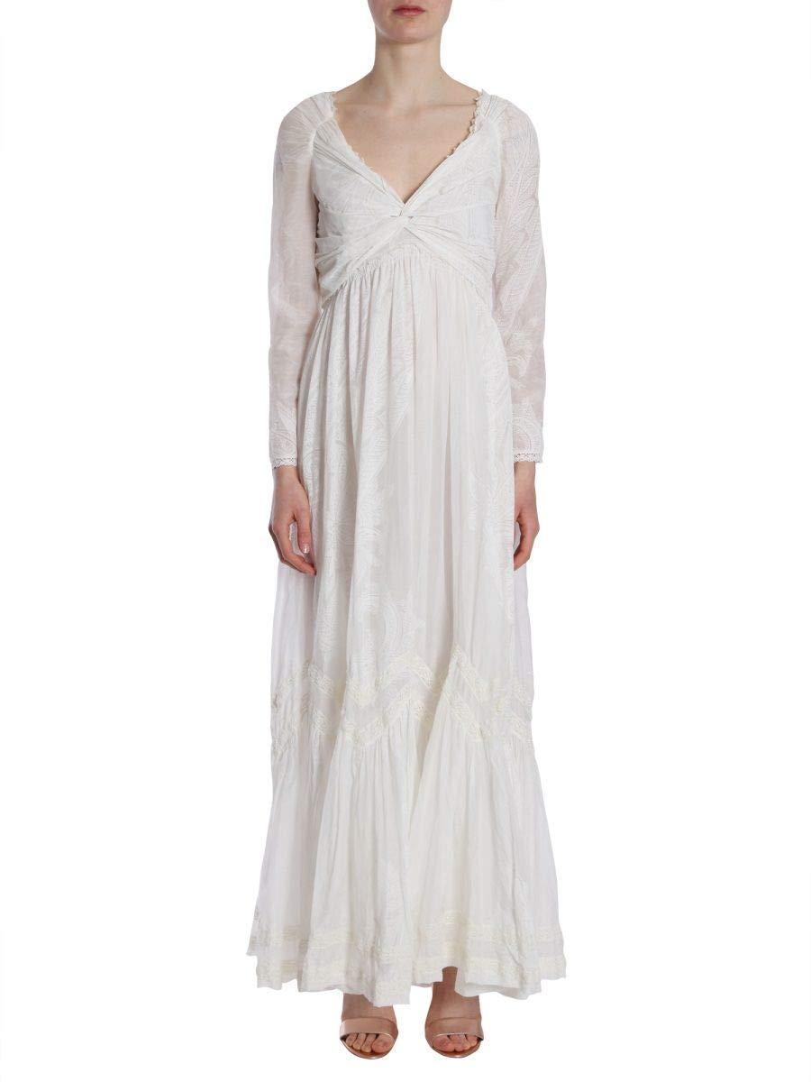 Etro Women's 178094625990 White Cotton Dress