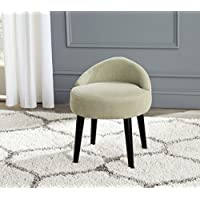 Safavieh Mercer Collection Brinda Mid-Century Green Mist Vanity Chair