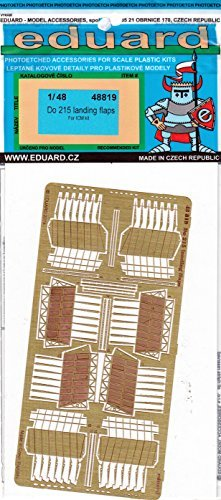 venta con descuento EDU48819 1 48 Eduard Eduard Eduard PE - Do 215 Landing Flaps Set (for use with the ICM model kit) [MODEL KIT ACCESSORY] by Eduard  gran selección y entrega rápida