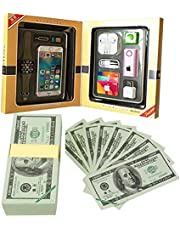 High-end Ancestor Money to Burn, Joss Paper with Smart Phone Hell Bank Note Spirit Ghost for Funeral, Strengthen Connection with Your Ancestors, Bring Good Luck Wealth