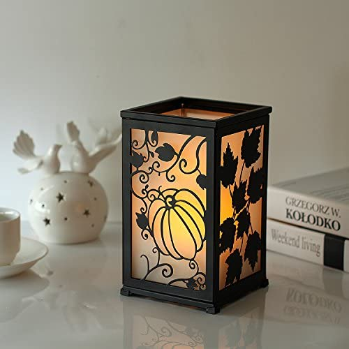 home, kitchen, home décor, candles, holders, candleholders,  decorative candle lanterns 8 picture GiveU Decorative Led Candle Lantern with Timer Rustic in USA